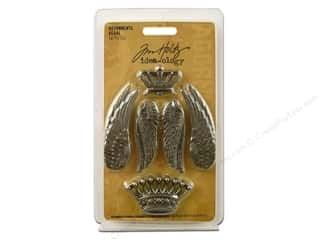 Angels/Cherubs/Fairies Charms: Tim Holtz Idea-ology Adornments Regal 10pc