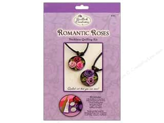 Quilled Creation Quilling Kit Jewelry Rose Necklac