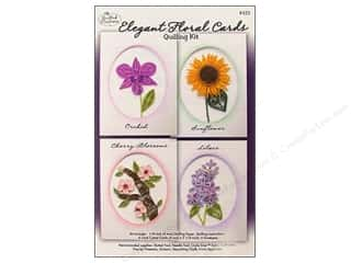 Projects & Kits MAMBI Kit Scrapbook: Quilled Creations Quilling Kit Floral Cards