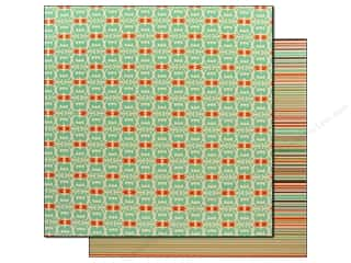 Bazzill Paper 12x12 GFB Tulip Damask/Stripe 25pc
