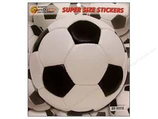 Scrappin Sports Sticker Super Size Soccer