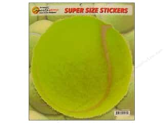 Scrappin Sports Sticker Super Size Tennis