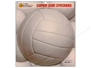 Scrappin Sports Sticker Super Size Volleyball
