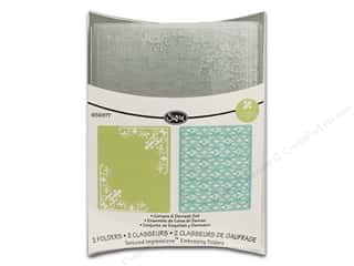 Sizzix Emboss Folder TI RBright Corners & Damask