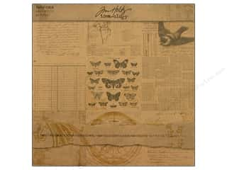 Tim Holtz Idea-ology Paper Stash Kraft Resist
