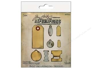 Scrapbooking & Paper Crafts Dies: Sizzix Bigz Die Tiny Tabs & Tags by Tim Holtz