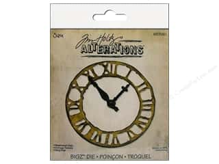 Sizzix Bigz Die Weathered Clock by Tim Holtz