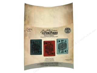 Sizzix Emboss Folder Tim Holtz TT Poker Face