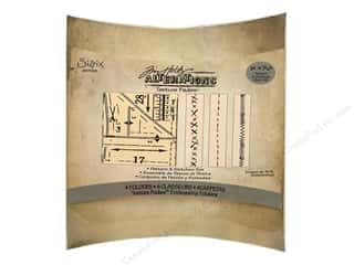 Sizzix Emboss Folder Tim Holtz TF Pattern&Stitches