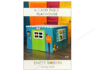 2013 Crafties - Best Adhesive: Card Table Playhouse Pattern