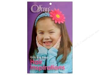 Ribbon Work Books & Patterns: Offray Quick & Easy Hair Inspirations Book