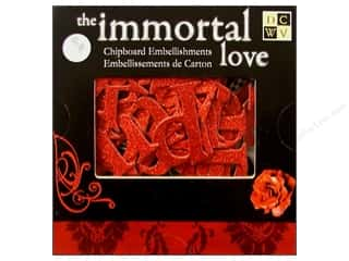 Holiday Sale: DieCuts Chipboard Box Immortal Love