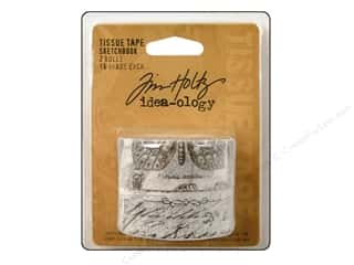 Tim Holtz Idea-ology: Tim Holtz Idea-ology Tissue Tape Sketchbook