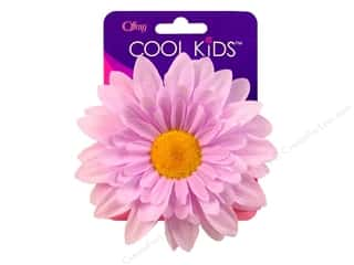 "Offray Cool Kids Clip/Pin 4"" Flower Lavender"