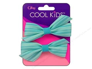 Offray Cool Kids Bow Multi Color Blue 2pc
