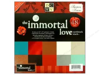 Clearance Die Cuts with a View Stacks: Die Cuts 12 x 12 in. Cardstock Stack Immortal Love