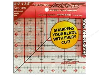 "Weekly Specials Quilting Rulers: Sullivans The Cutting Edge Ruler 6.5""x 6.5"""
