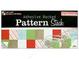DieCuts Adhesive Back Cardstock Stack 12x24 Pattrn