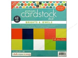 Die Cuts 12 x 12 in. Cardstock Stack Dots, Stripes & Plaids