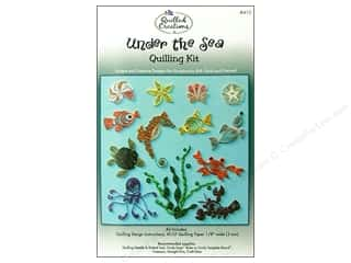 Straight Stitch Rubber Stamping: Quilled Creations Quilling Kit Under the Sea