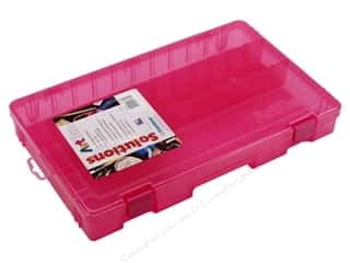 ArtBin Solutions Box Lg Front Cmprtmnt Raspberry