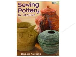 Sparkle Sale DecoArt Craft Twinkles: Sewing Pottery By Machine Book