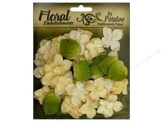 Petaloo FloraDoodles Chantilly Hydrangeas Cream
