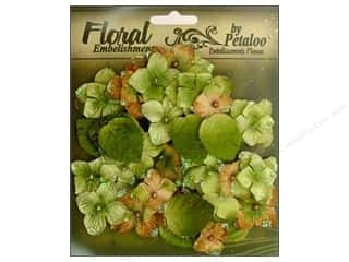 Petaloo FloraDoodles Chantilly Hydrangeas Sage