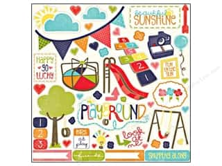 Echo Park Sticker 12x12 Playground Elements (15 sheets)