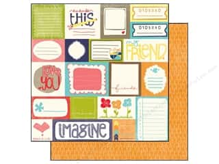 Echo Park 12 x 12 in. Paper Playground Journaling Cards (25 sheets)