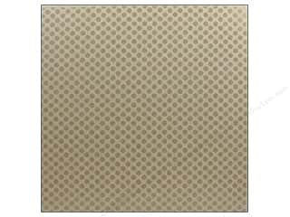 Bazzill: Bazzill Chipboard 12 x 12 in. Glazed Polka Dot 15 pc.