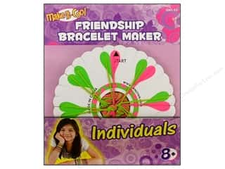 embroidery floss: Janlynn Friendship Bracelet Maker