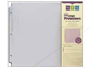 "Page Protectors Clearance Crafts: We R Memory Page Protectors Post 12""x 12"" 10pc"