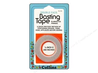 "Collins Tape Basting Double Sided 1/8""x 200"""