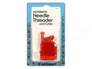automatic needle threader: Collins Needle Threader Automatic With Cutter