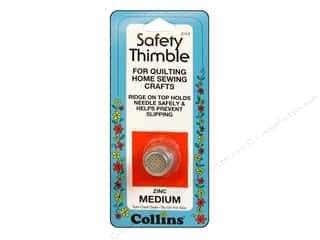 Quilting Collins: Collins Thimble Medium Zinc
