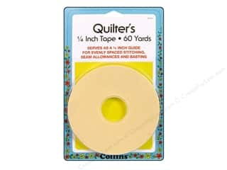 "Sewing Construction: Collins Quilter's Tape 1/4""x 60yd"