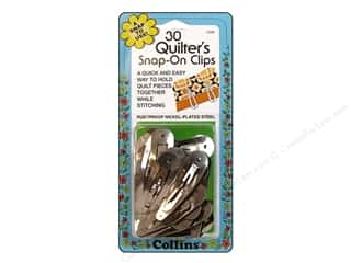 Collins Quilter's Clips Snap On 30pc
