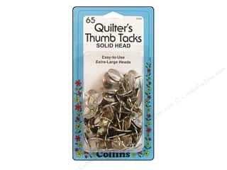 Collins: Quilter's Thumb Tacks by Collins 65 pc.