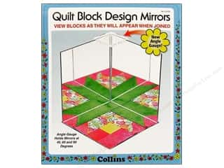 Collins Quilt Block Design Mirrors Angle Gauge