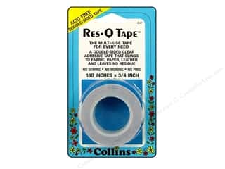 quilting Tape: Res-Q Tape by Collins Double Sided 3/4 x 180 in.
