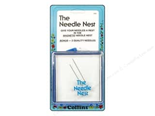 Needle Holders inches: The Needle Nest by Collins Magnetic