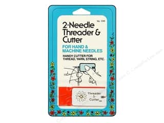 Collins Needle Threader With Cutter 2pc