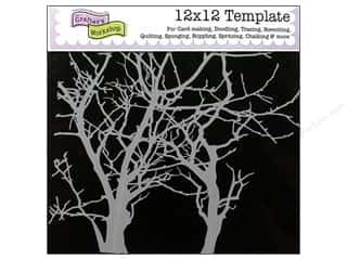 The Crafters Workshop Template 12x12 Branches
