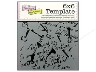 The Crafter's Workshop Template 6 x 6 in. Antiquities