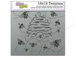 The Crafters Workshop Template 12x12 Busy Bees