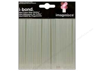 Hot Clear: Imaginisce i-bond Glue Sticks Mini Clear 24pc