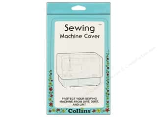 Sewing Construction Clear: Sewing Machine Cover by Collins Clear