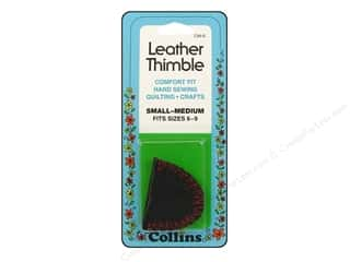 Leather Thimble by Collins Small/Medium