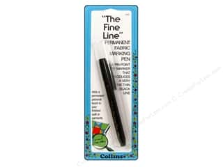 Collins Marking Pen Fine Line Permanent Black